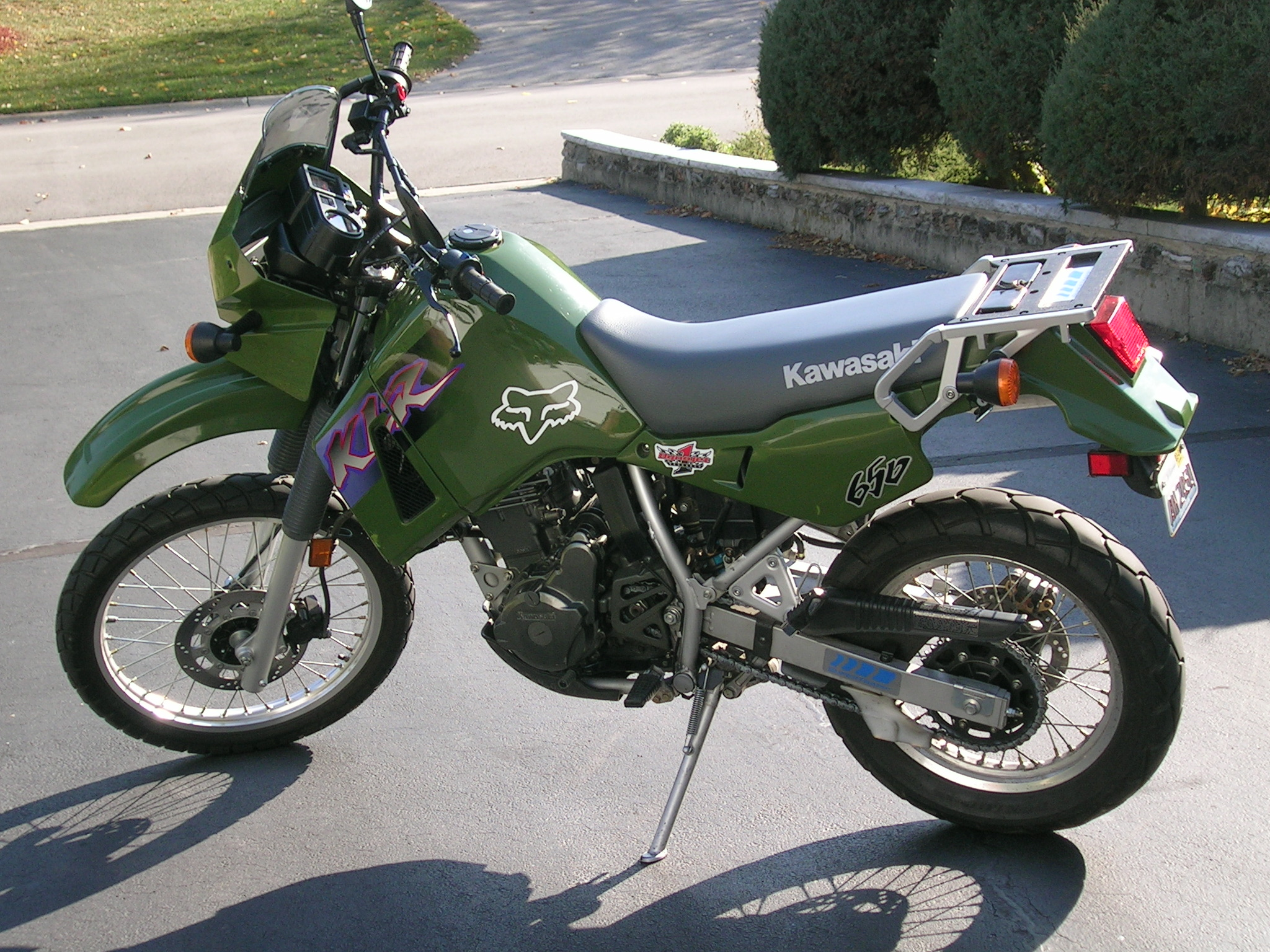 Featured Motorcycle - 2000 Kawasaki KLR 650