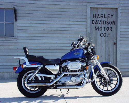 1996 Harley Davidson Sportster XLH1200 Standard Motorcycle